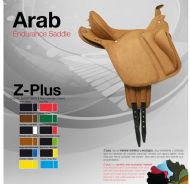 Arab endurance saddle by Zaldi